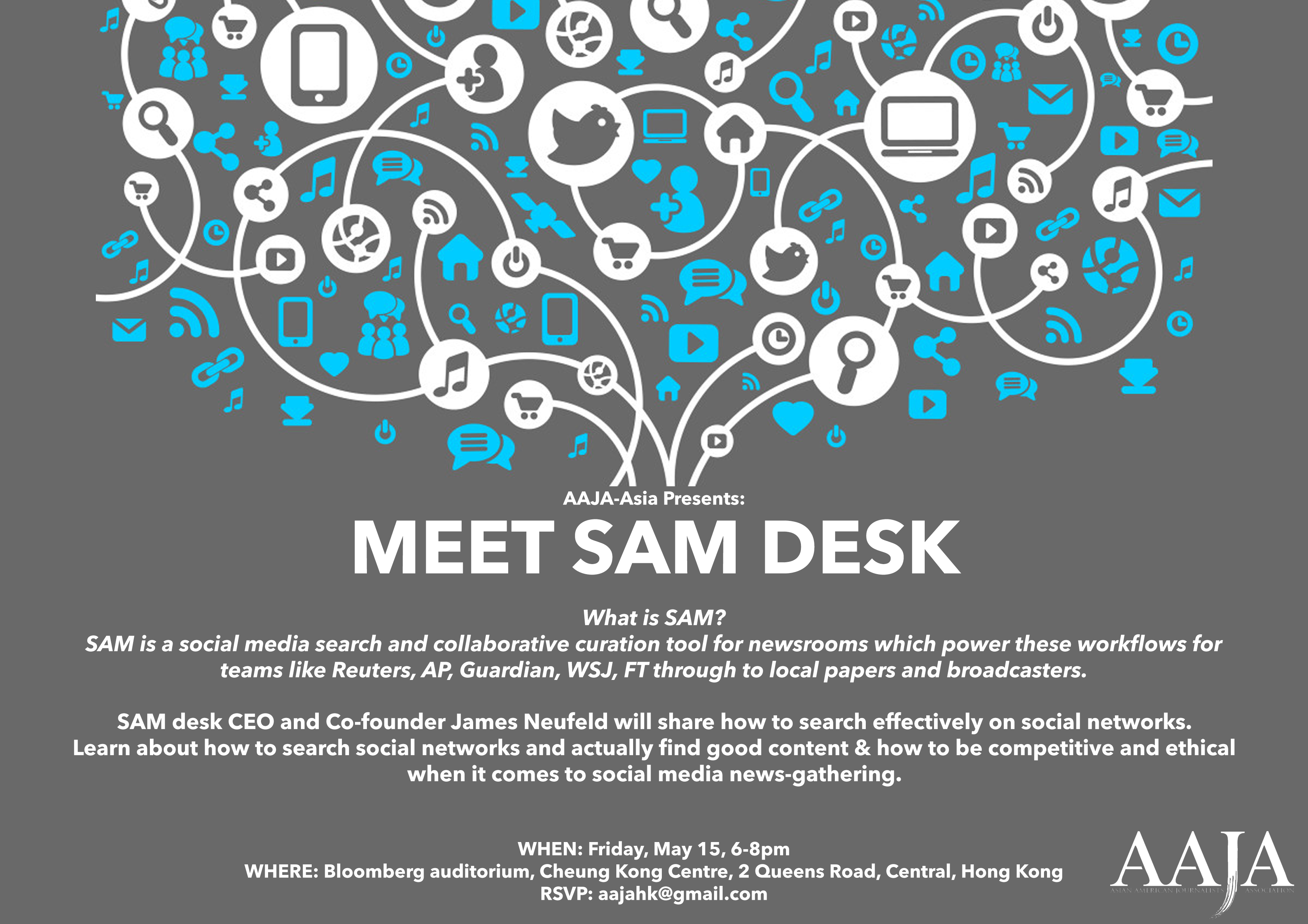 Hong Kong Event: Meet SAM Desk CEO and Co-founder