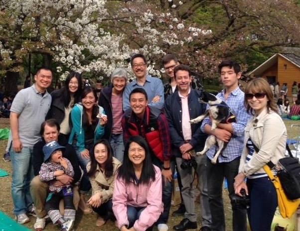 AAJA-Asia, Tokyo 2016 Annual Hanami Party