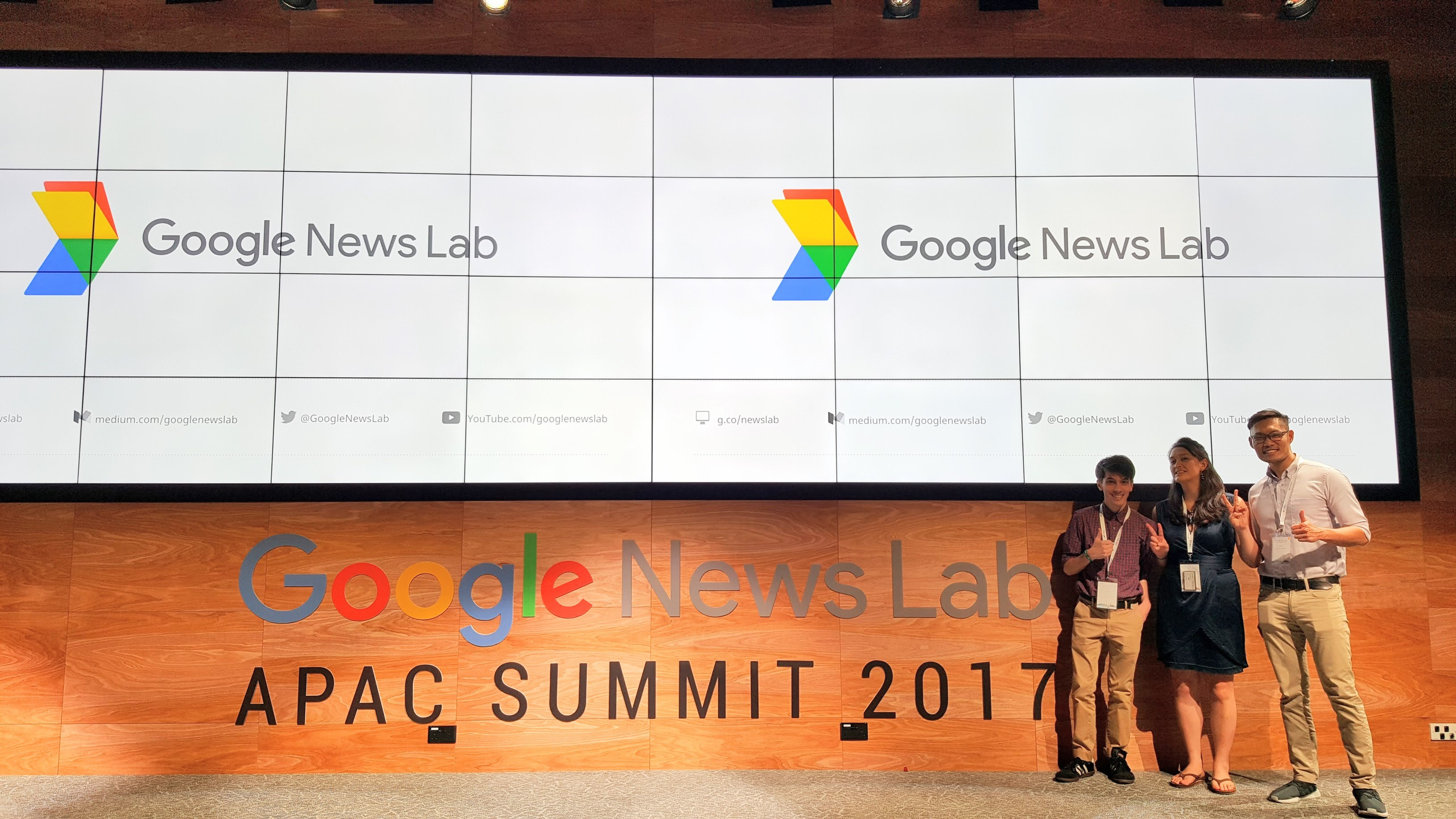 Whirlwind recap of Google News Lab Summit APAC 2017