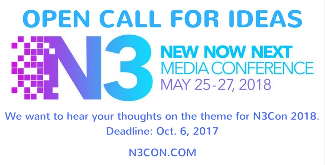 Open Call for N3Con's 2018 Theme